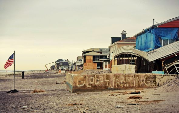 November 19th, 2012: Along the beach in the Rockaways, NY.